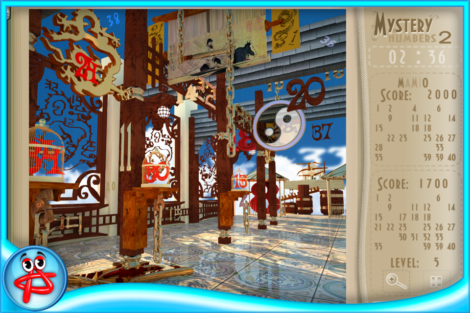 Screenshot Mystery Numbers 2: Free Hidden Object