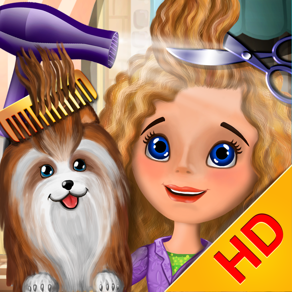 Hair Salon Makeover HD   Fun Game for Kids, Boys and Girls ...